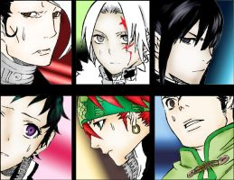 DGM characters by Kotok0