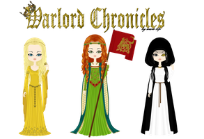Warlord Chronicles - Girls by marasop