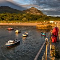 Trefor Habour by CharmingPhotography