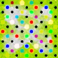 Colored Dots Seamless by ricardobastiaan