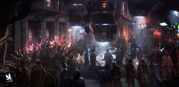 Guardians of the Galaxy- Bar concept by atomhawk