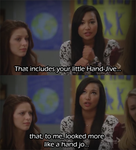 Glee : Santana's Talking ! by MSaadat10