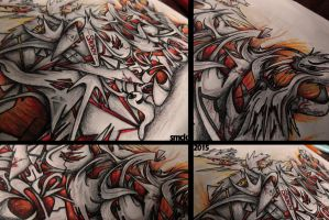DEMONS GraffitiSketch #details by SmecKiN