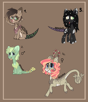 Closed species Random pony adopts 15# by Reamina
