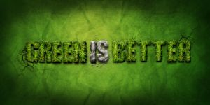 green is better by Nikonovic