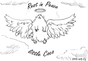 Daily Doodle 2015-07-12: R.I.P. Coco by Jitsch