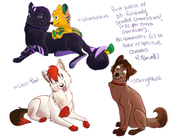 Three Dollar Commissions Batch One by Almirah