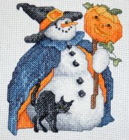 October - Witch Snowman by Aiyse