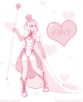 Queen of Hearts by padfootlet