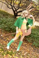 Cosplay: Viera Green Mage by burloire
