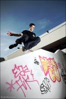 Parkour Test Shoot 1 by phothomas