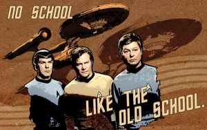 Old School Star Trek TOS by taltepeter