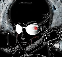 -Dave Strider Drawing- by XPockyDemonX