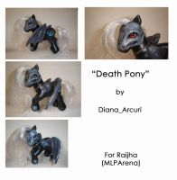 MLP Custom - Death Pony by BlackAngel-Diana