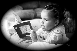 Young Reader by TeaPhotography