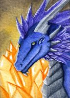 Leundra ACEO by Thalathis