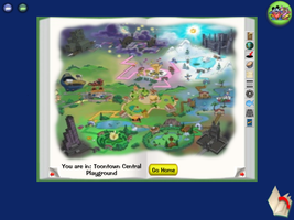 Toon Town Map by fergalicious214