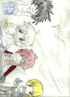 Death Note Group by JessieeX3