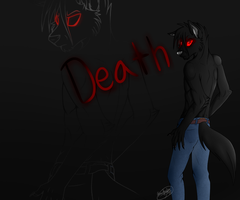 Death (Gift Art) by Draslonias