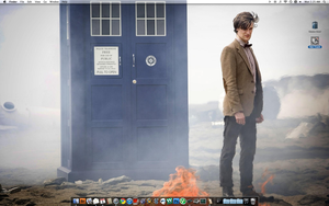 11th Doctor Desktop Screenshot by britmodtokyo
