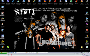 paramore desktop by julierrxo