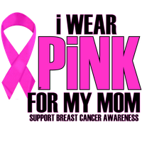 I WEAR PINK FOR MY MOM by Krazy-Purple