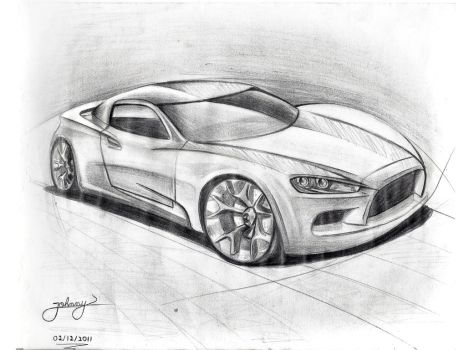 By JoHnnY - Car sketch by Johnny-Designer