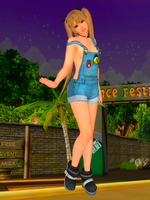 DOA5U - Marie Rose Overalls - no top Edit by armorvil