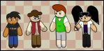 The New Cast by The-Author-M
