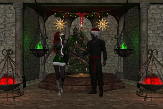 The Elf Helper to the Rescue by elDrow