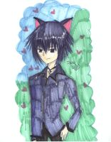 IKUTO XD nya.. :3 by Kyogurt-Star459