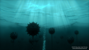 Underwater Minefield - Version 2 by JuanJoseTorres