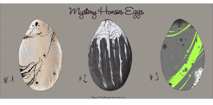 Mystery Horsies Eggs - Closed by LuxAdvised