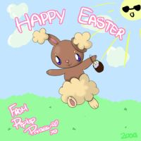 happy easter 2009 by Piplup-Princess