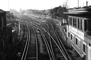 Bognor regis train tracks by dawsie