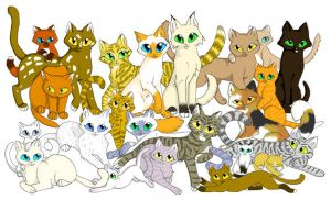 My ThunderClan by CaptainMorwen