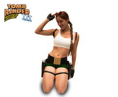 Cosplay Lara Croft - Tomb Raider III - Pacific by MissCroftCosplay
