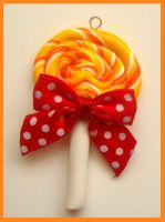 lollipop charm by citruscouture