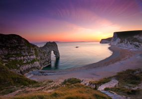 Durdle Door Sunset by ErveMAN