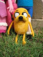 My Needle Felted Jake by CatsFeltLings