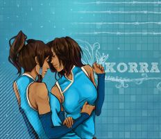 Korra vs Korra by Purple-Meow
