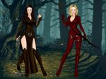 Kahlan e Cara by DarthCrotalus