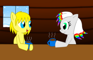 PRIZE Hot Coco On A Snowy Day by LillyTheSeedrian