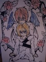 Angel and devil by EllyMello