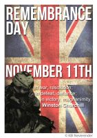 Remembrance Day Poster by NeverenderDesign