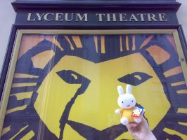 Miffy and The Lion King by miffystravels