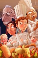 Fan art Ratatouille 2009..... by sai2009