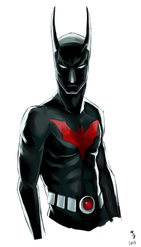 Batman Beyond by kiraoka