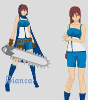 Final Fantasy OC: Bianca by KhairiLoneliness