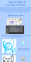 How To Make A Pixel Icon the Icy Way Part 1 by IceBIue